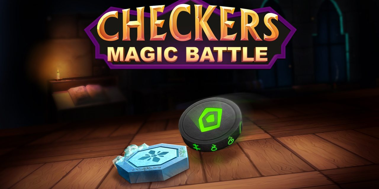 Checkers Magic Battle