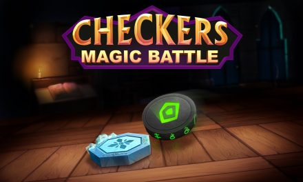 Checkers Magic Battle