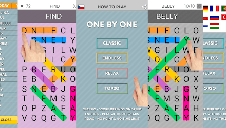 One By One – Multilingual Word Search