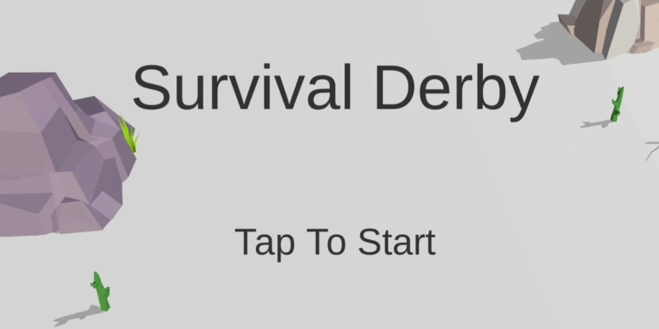 Survival Derby 3D – car racing & running game