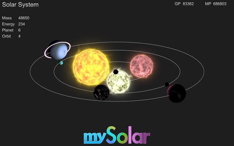 mySolar – Build your Planets
